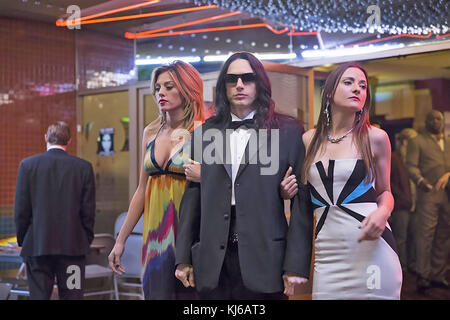 THE DISASTER ARTIST 2017 New Line Cinema film with James Franco - Stock Photo