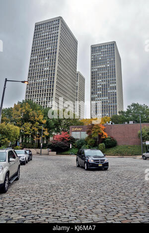 New high-rise buildings in the Old Town, Philadelphia, Pennsylvania, USA - Stock Photo