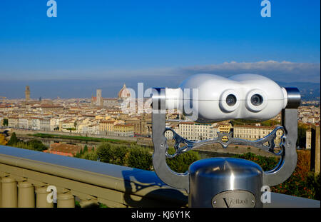 overview of florence, italy - Stock Photo