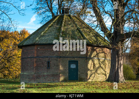 The 17th Century Brick Built 12 Sided Ice House In Home Park Hampton Court Palace