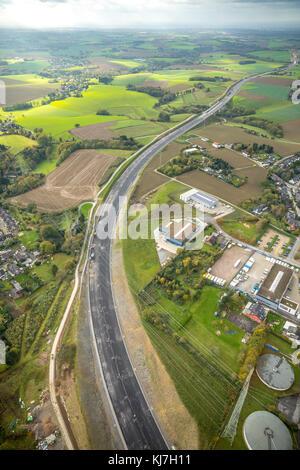 Rehmann Velbert highway a44 construction site between heiligenhaus and velbert stock