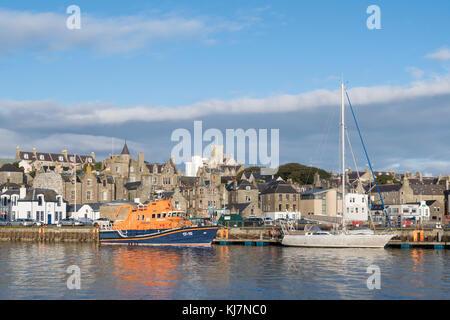 Lerwick town, Shetland Islands, Scotland, UK - Stock Photo