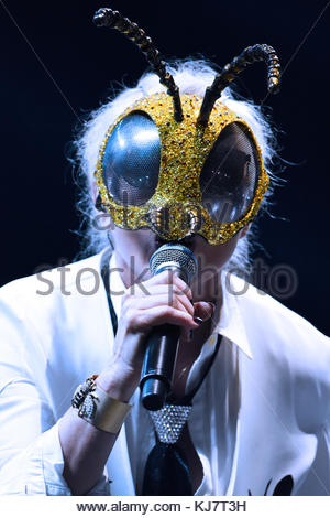 London, UK. 17 November, 2017. Blondie performs at the O2 Academy Brixton. - Stock Photo