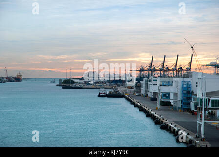Miami Cruise Ship Terminal Stock Photo Royalty Free Image - Miami cruise ship terminal