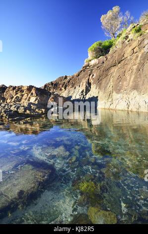 Fingal Bay NSW New South Wales Australia - Stock Photo