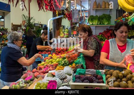 Olivar Market, Mallorca, Balearic Isles, Spain - Stock Photo