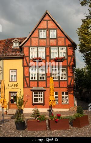 Quedlinburg Am Finkenherd - Stock Photo