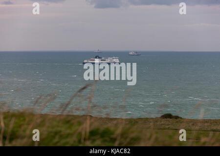 Beaches on the Dunkirk coast, France. - Stock Photo