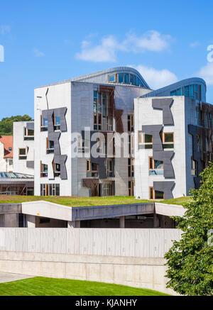 scottish parliament building Edinburgh scotland edinburgh scottish parliament building edinburgh holyrood edinburgh - Stock Photo