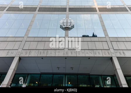 Chicago, Illinois - September 5, 2015: Chicago Mercantile Exchange Center is an office complex of two towers in - Stock Photo
