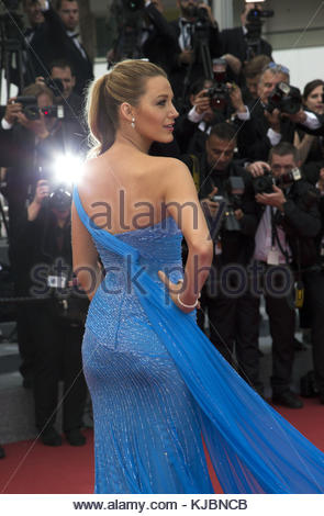 CANNES, FRANCE - MAY 14: Blake Lively attends 'The BFG (Le Bon Gros Geant - Le BGG)' premiere during the 69th annual - Stock Photo