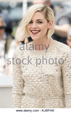 CANNES, FRANCE - MAY 17: Kristen Stewart attends the 'Personal Shopper' - Photocall at the annual 69th Cannes Film - Stock Photo