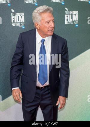 Dustin Hoffman at the 'The Meyerowitz Stories' premiere, BFI London Film Festival, UK  6th Oct 2017 - Stock Photo