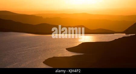 One of the Teifi pools on the Cambrian Mountains in Mid Wales. © Ian Jones/Alamy Live News - Stock Photo