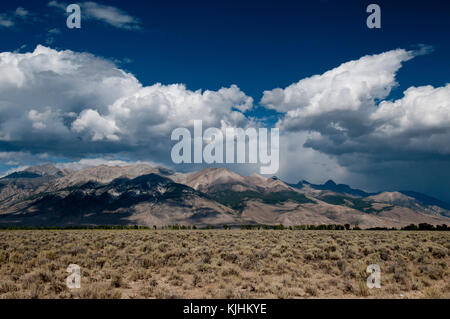 West side of Lost River Range, Idaho - Stock Photo