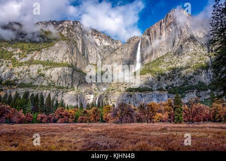 Landscape of Yosemite National Park, California - Stock Photo