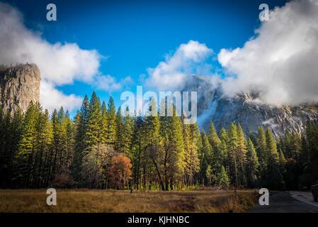 Landscape of Yosemite National Park, California