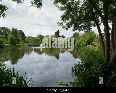 BLETCHLEY PARK (1883)                  MILTON KEYNES BUCKINGHAMSHIRE UNITED KINGDOM - Stock Photo