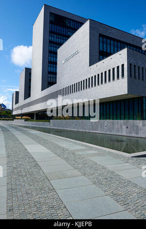 The office of Europol in The Hague, Netherlands. The law enforcement agency of the European Union - Stock Photo
