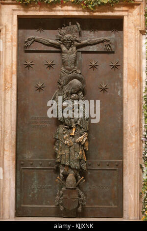 St John in Laterano's church, Rome. Holy Door. Italy. - Stock Photo