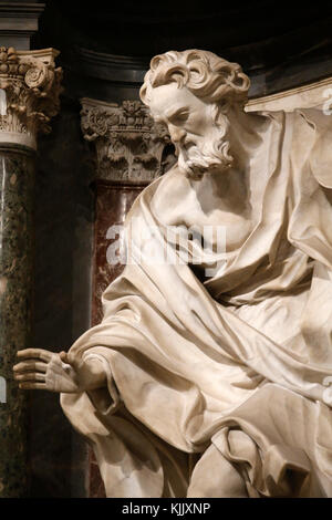 St John in Laterano's church, Rome. Italy. - Stock Photo