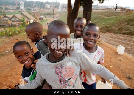 Ugandan children. Uganda - Stock Photo
