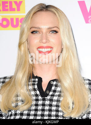 WEST HOLLYWOOD, CA - JUNE 14:  Erin Taylor Foster arrives at the premiere for VH1's 'Barely Famous' Season 2 on - Stock Photo
