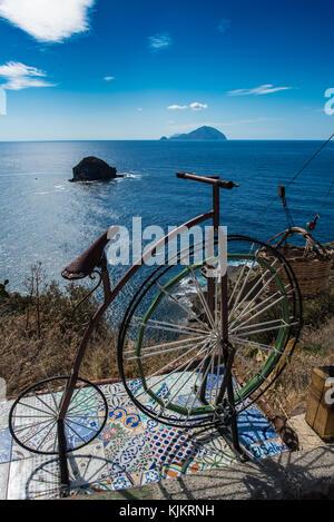 Il Postino Tribute Bicycle - Stock Photo