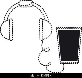 smartphone device icon image - Stock Photo