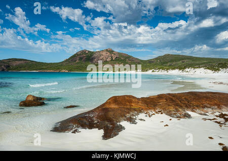 Thistle Cove in Cape Le Grand National Park. - Stock Photo