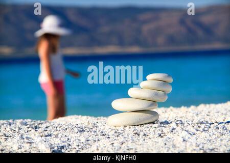 relexation on the beach - Stock Photo