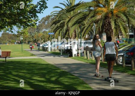 Langley Park, Perth, Australia. - Stock Photo