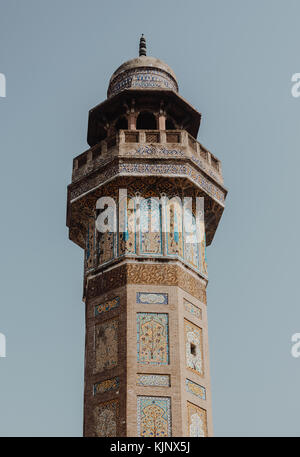 Wazir Khan Mosque, Lahore - Pakistan - Stock Photo