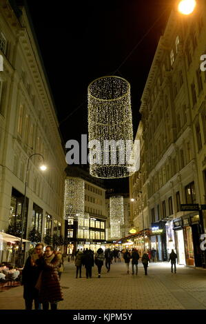 Vienna, Austria. 26th November, 2017.     From mid-November to the end of December, many big and small Christmas - Stock Photo