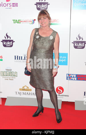 London, UK. 27th November, 2017. Janet Ellis, British Curry Awards, Battersea Evolution, London, UK. 27th Nov, 2017. - Stock Photo