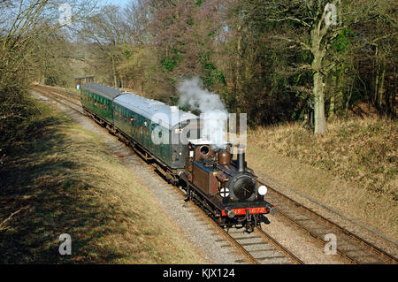 LBSCR Terrier Number 672 - Stock Photo