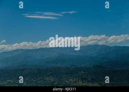 Mountains Talamanca,Limón, Limón Province, Costa Rica, aerial view. Photo by: Roberto Carlos Sánchez @rosanchezphoto - Stock Photo