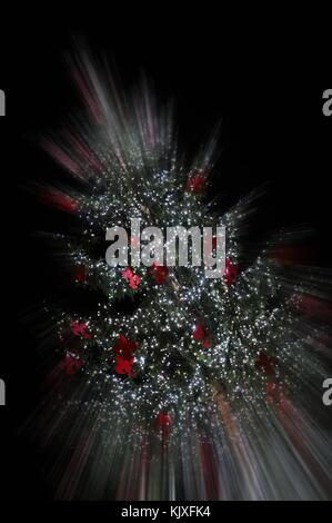 Christmas in Florence. Decorations - Stock Photo
