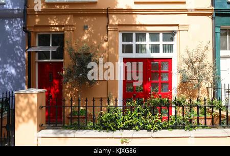 Exterior Of A Georgian Townhouse In London Stock Photo Royalty - Beautiful georgian house in london