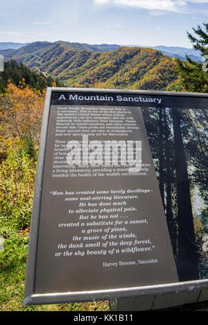Great Smoky Mountains National Park. - Stock Photo