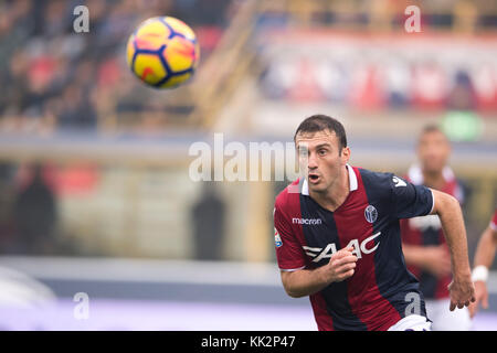 Bologna, Italy. 25th Nov, 2017. Vasilis Torosidis (Bologna) Football/Soccer : Italian 'Serie A' match between Bologna FC 3-0 UC Sampdoria at Stadio Renato Dall'Ara in Bologna, Italy . Credit: Maurizio Borsari/AFLO/Alamy Live News Stock Photo