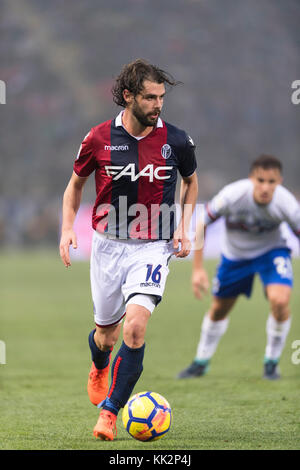 Bologna, Italy. 25th Nov, 2017. Andrea Poli (Bologna) Football/Soccer : Italian 'Serie A' match between Bologna FC 3-0 UC Sampdoria at Stadio Renato Dall'Ara in Bologna, Italy . Credit: Maurizio Borsari/AFLO/Alamy Live News Stock Photo