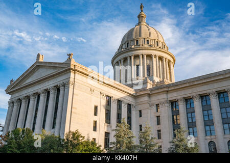 Oklahoma Capitol Building in Oklahoma City, OK - Stock Photo