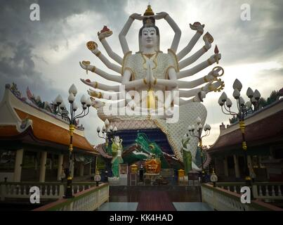 Wat Plai Laem, Thailand Buddha Images -  19/12/2009  -    -  Wat Plai Laem, Thailand Buddha Images -  Wat Plai Laem - Stock Photo