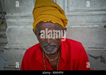'Turban people of India' Visiting the Sikhs at the Golden Temple in Amritsar in northern India Glance of Indian - Stock Photo