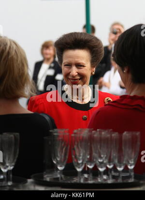 PRINCESS ANNE PRINCESS ROYAL ATTENDING THE RHS CHELSEA FLOWER SHOW ON PRESS DAY ON 21ST MAY 2012. Russell Moore portfolio page.