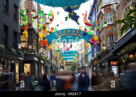 Carnaby Street - Stock Photo