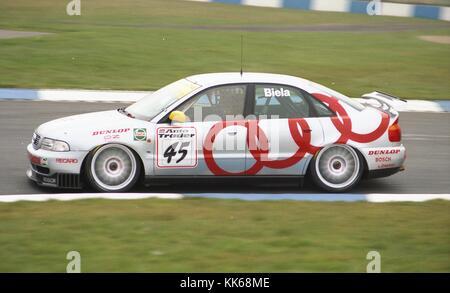 Frank Biels Audi A Quattro British Touring Car - Audi car 1996