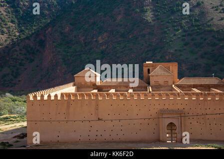 Mosque de Tinmel at Imlill valley in Maroc - Stock Photo