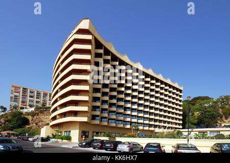 View of the Melia Costa Del Sol Hotel, Torremolinos, Malaga Province, Andalusia, Spain, Western Europe. - Stock Photo